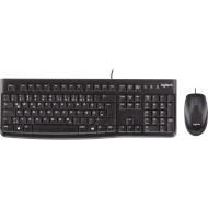 Комплект клавиатура + мышь LOGITECH MK120 Desktop (920-002561)