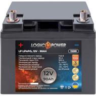Автомобільний акумулятор LOGICPOWER LiFePO4 12В 90 Агод (LP13281)
