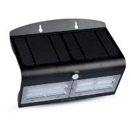 Уличный светильник V-TAC LED Solar Wall Light Black Body Natural White