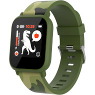 Годинник-телефон дитячий CANYON My Dino KW-33 Green Camo (CNE-KW33GB)