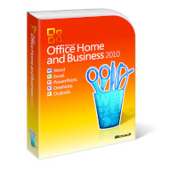 MICROSOFT Office Home & Business 2010 (Unboxed) Russian 1 ПК DVD (T5D-00412_Unboxed)