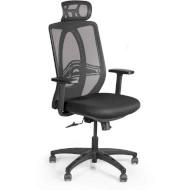 Кресло офисное BARSKY Synchro Arm Black (BB-02PL)