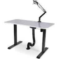 Стол компьютерный BARSKY StandUp Memory Electric White (BSU_EL-08+BCM-01+BF-01)