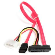 Кабель SATA - SATA Slimline 0.35м CABLEXPERT (CC-SATA-C1)