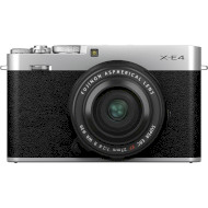 Фотоаппарат FUJIFILM X-E4 Silver Kit XF 27mm f/2.8 R WR (16673938)