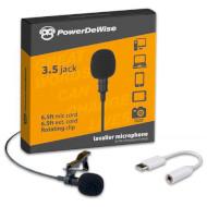 Мікрофон петлічний POWERDEWISE Lavalier Lapel Microphone with Type-C adapter (PDWCA)