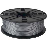 Пластиковый материал (филамент) для 3D принтера GEMBIRD PLA 1.75mm Silver (3DP-PLA1.75-01-S)