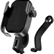 Велотримач для смартфона BASEUS Armor Motorcycle Holder Black (SUKJA-01)