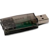 Зовнішня звукова карта EXTRADIGITAL USB Sound Card 3D