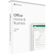 ПЗ MICROSOFT Office 2019 Home & Business Medialess P6 English 1PC Box (T5D-03347)