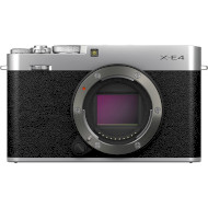 Фотоаппарат FUJIFILM X-E4 Body Silver (16673847)