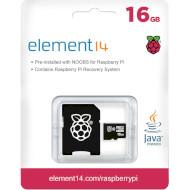 Карта пам'яті TRANSCEND Element 14 SDHC 16GB w/NOOBS (TSRASPI10-16G)