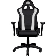 Кресло геймерское COOLER MASTER Caliber R1 White/Black (CMI-GCR1-2019W)