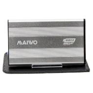 """Внешний карман MAIWO K2501A-U3S Silver 2.5"""" USB"""