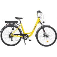 """Електровелосипед MAXXTER City Elite 28"""" Yellow"""