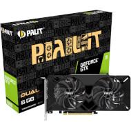 Видеокарта PALIT GeForce GTX 1660 Dual (NE51660018J9-1161C)