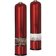 Набор электрических мельниц для соли и перца BERLINGER HAUS Metallic Line Burgundy Edition (BH-7217)