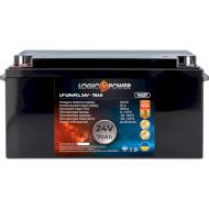 Автомобільний акумулятор LOGICPOWER LiFePO4 24В 70 Агод (LP14327)