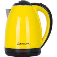 Электрочайник DELFA DK 3520 X Yellow