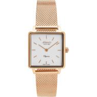 Часы ATLANTIC Elegance Square Rose Gold PVD White (29041.44.11MB)