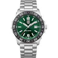 Часы LUMINOX Pacific Diver 3137 Series Green/Silver (XS.3137)