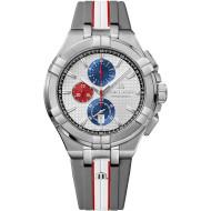Часы MAURICE LACROIX Aikon Chronograph Quartz Special Edition Mahindra Racing (AI1018-TT031-130-2)