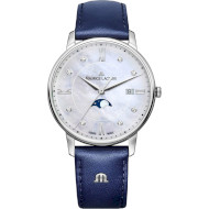 Часы MAURICE LACROIX Eliros Moonphase 35mm (EL1096-SS001-170-1)
