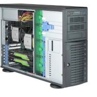 Корпус серверный SUPERMICRO SuperChassis 745TQ-R1200B 2х1200Вт