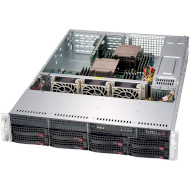Корпус серверный SUPERMICRO SuperChassis 825TQC-R740WB 2х740Вт