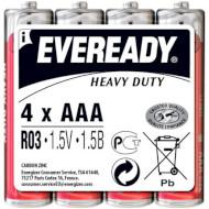 Батарейка ENERGIZER Eveready Heavy Duty AAA 4шт/уп (639609)