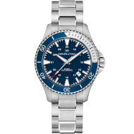 Часы HAMILTON Khaki Navy Scuba Automatic 40mm Blue Dial (H82345141)
