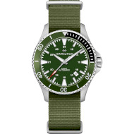 Часы HAMILTON Khaki Navy Scuba Automatic 40mm Green Dial (H82375961)