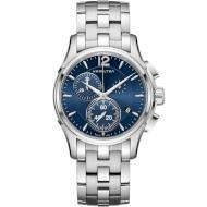 Часы HAMILTON Jazzmaster Chrono Quartz 42mm Blue Dial (H32612141)