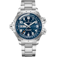 Часы HAMILTON Khaki Aviation X-Wind Day Date Auto 45 mm Blue Dial (H77765141)