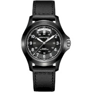 Часы HAMILTON Khaki Field King Auto 40mm Black Dial (H64465733)