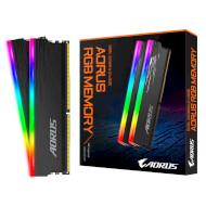 Модуль памяти AORUS RGB Black DDR4 3333MHz 16GB Kit 2x8GB/Уценка (GP-ARS16G33)