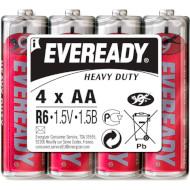 Батарейка ENERGIZER Eveready Heavy Duty AA 4шт/уп (637081)