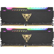 Модуль памяти PATRIOT Viper Steel RGB DDR4 3200MHz 16GB Kit 2x8GB (PVSR416G320C8K)