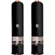 Набор электрических мельниц для соли и перца BERLINGER HAUS Black Rose Collection (BH-9286)