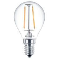 Лампочка LED PHILIPS LED Fila ND P45 E14 2.3W 2700K 220V