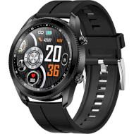 Смарт-часы LEMFO TK88 Silicone Black