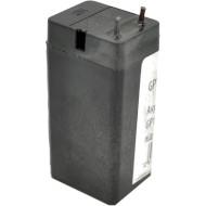 Аккумуляторная батарея с клеммами под пайку MERLION GP1135 (4В 0.6Ач)