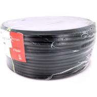 Силовой кабель RITAR ВВГнг-П 2x1.5мм, чёрный, 100м (21208)