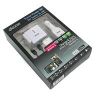 Универсальное зарядное устройство DEXIM DPA034
