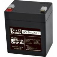 Аккумуляторная батарея FULL ENERGY FEP-124 (12В 4Ач)