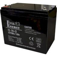 Аккумуляторная батарея FULL ENERGY FEP-1270 (12В 70Ач)