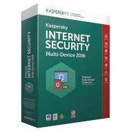 Продление лицензии KASPERSKY Internet Security 2016 (2+1 ПК, 1 год) Box