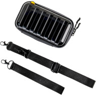 Органайзер для аксесуарів BASEUS Let's go Hermit Shockproof Storage Bag Black