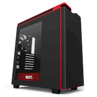Корпус NZXT H440 w/window Matte Black/Red