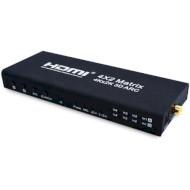 HDMI світч 4→2 VOLTRONIC AYM-42V14